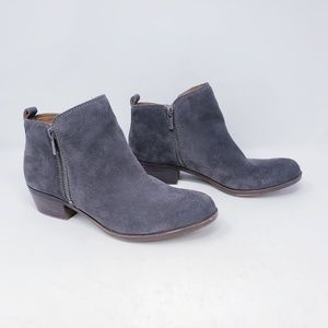 Lucky Brand Basel Suede Bootie Grey Size 8.5